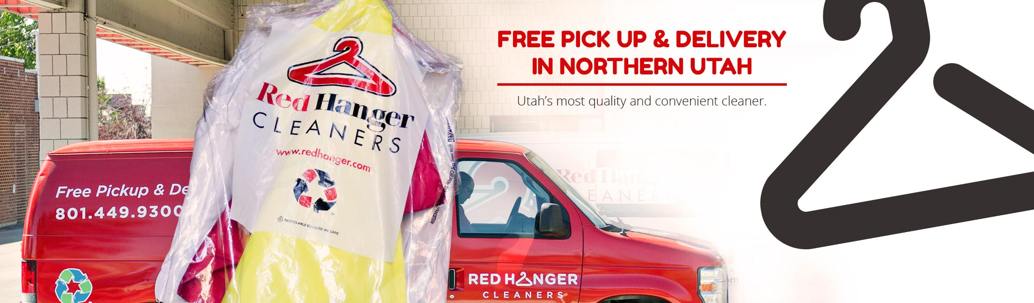 free pickup & delivery in northern Utah