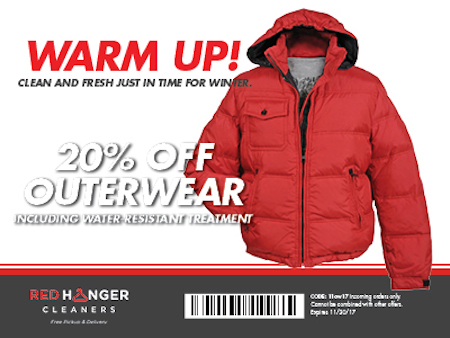 Winter Jackets Dry Cleaning