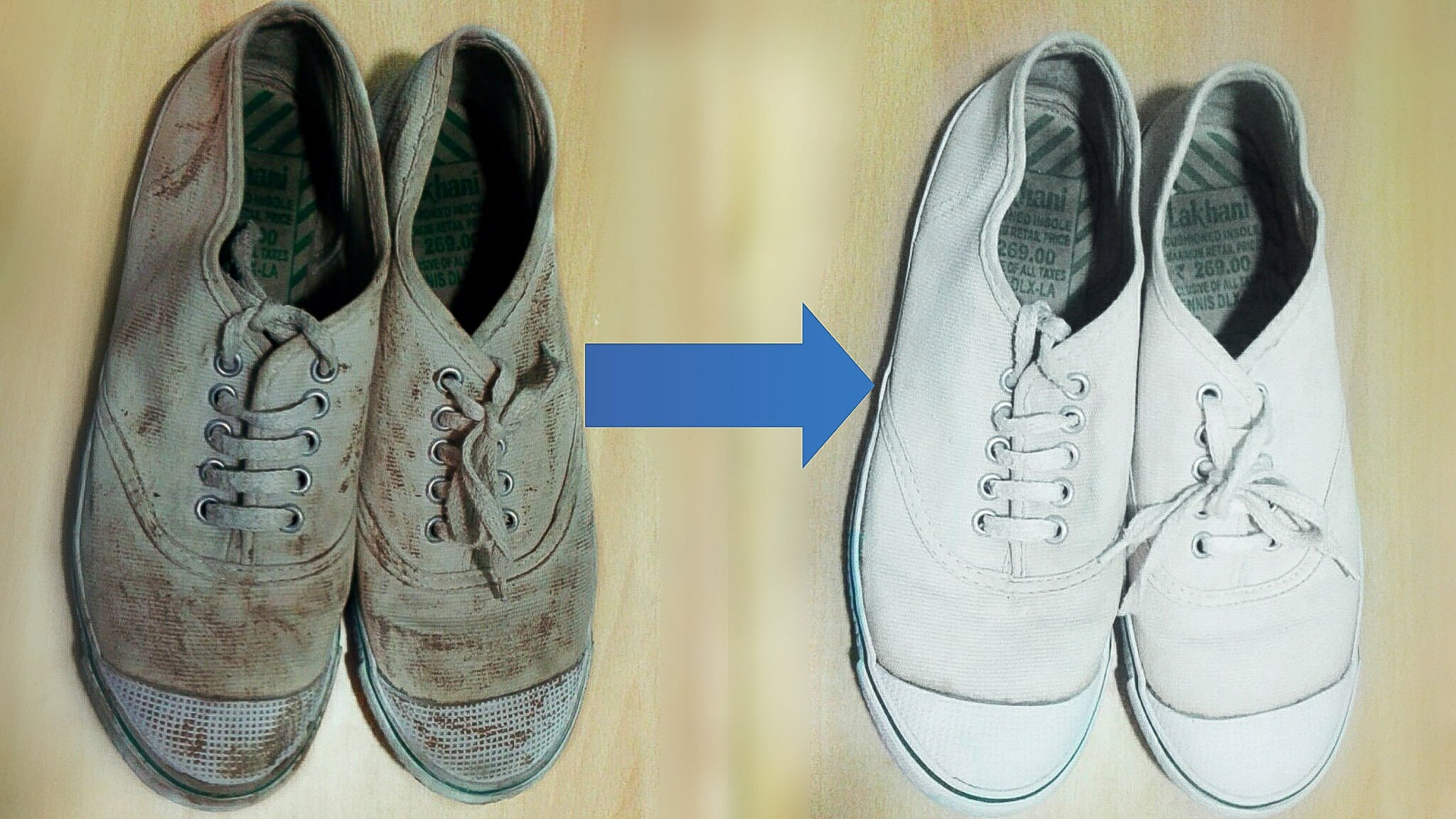 How To Clean White Fabric Shoes
