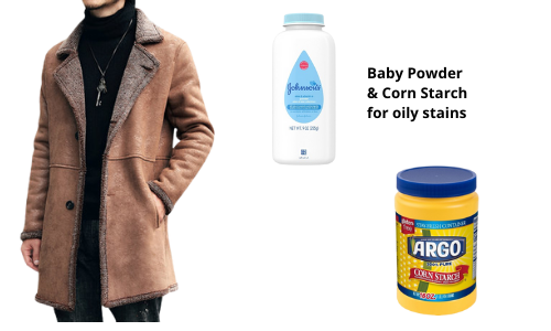baby powder and corn starch