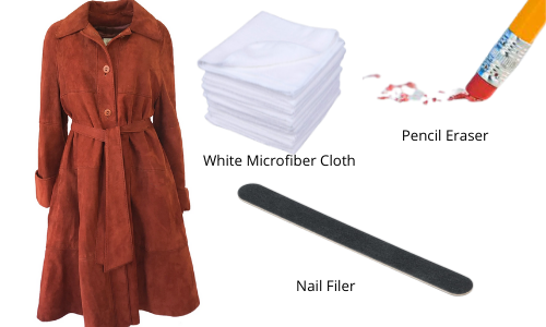 suede coat cleaning materials